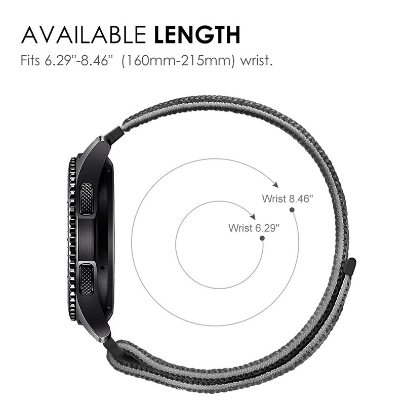 Image 5 - New20mm Nylon Loop Woven Strap for Xiaomi Huami Amazfit Bip BIT Lite Youth Smart Watch Wearable Wrist Bracelet Amazfit Watchband-in Smart Accessories from Consumer Electronics