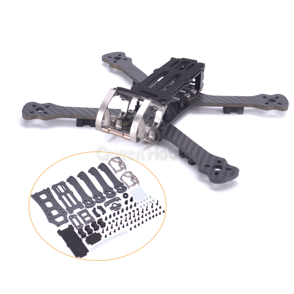 Rooster 230 225mm 5 FPV Racing Drone Quadcopter Frame 5 Inch FPV Freestyle Frame PK Armattan