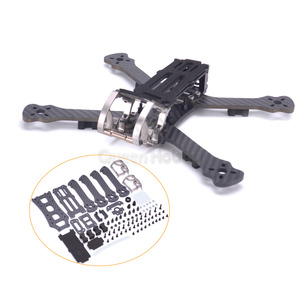 "Image 1 - Gallo 230 225mm 5 ""Dron de carreras con visión en primera persona Quadcopter marco 5 pulgadas FPV marco para Freestyle PK Armattan PUDA camaleón"