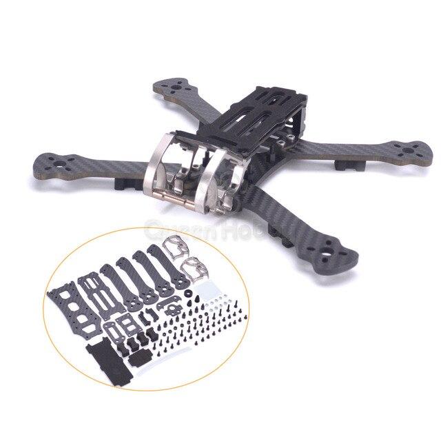 "Gallo 230 225mm 5 ""Dron de carreras con visión en primera persona Quadcopter marco 5 pulgadas FPV marco para Freestyle PK Armattan PUDA camaleón"