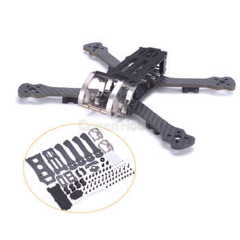"""Rooster 230 225mm 5\"""" FPV Racing Drone Quadcopter Frame 5 Inch FPV Freestyle Frame PK Armattan PUDA Chameleon - DISCOUNT ITEM  34 OFF Toys & Hobbies"""