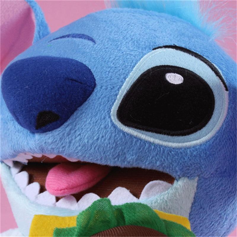Kawaii Anime Stitch Plush Toys Big Lilo and Stitch Stich Stuffed Dolls Blue Stitchs Kids Birthday Christmas Gift 30cm  (8)
