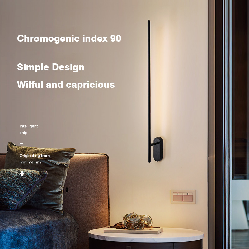 PULUOTI Free Rotation Angle Strip Light Surface Mount LED Wall Lamp