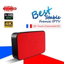 Best AVOV TVonline IPTV Box With NEOTV 1000+ Arabic French Portugal Benelux IPTV Mickyhop System Set-Top Box better than MAG254(China)