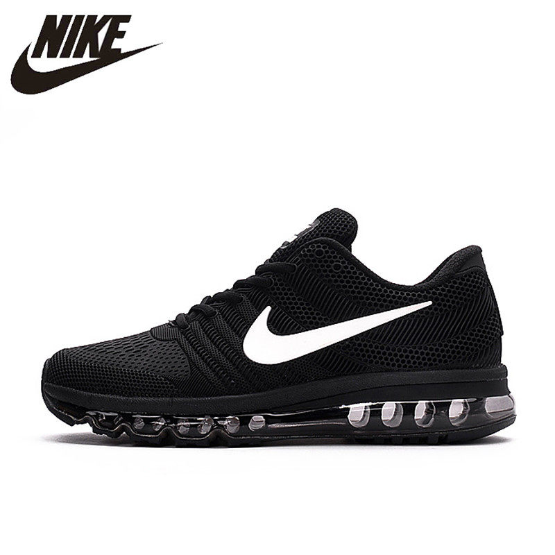 quality design 2b6f3 19c35 Hot Sale NIKE Air MAX 2017 Nike Running shoes full palm nano Disu  technology Sports Men