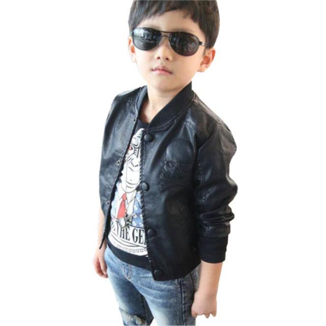 dc324c352b19 cheap for sale d1133 465d0 kids tops pu fleece leather children ...