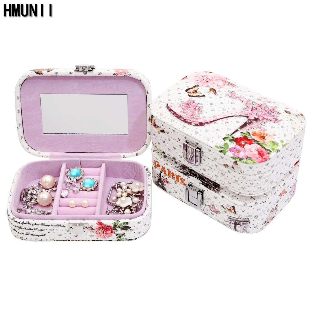 Fashion Cosmetic Bags Makeup Bag Women Travel Jewelry Box Professional Storage Brush Necessaries Make Up Organizer storage box new arrive hot 2pc set portable jewelry box make up organizer travel makeup cosmetic organizer container suitcase cosmetic case