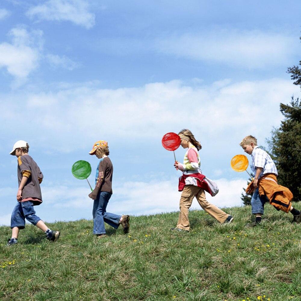 3 шт. дети Выдвижная бабочка Чистая ловли ошибок насекомых рыболовная сеть Дворе Сад Природа наука Разведка инструмент игрушки