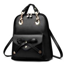 Красивые женские рюкзак модные кожаные сумки на плечо корейский Красочные Школа женский дорожная сумка для девочек-подростков рюкзак
