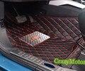 Esteras del piso del coche para mitsubishi pajero sport (sólo para 7 asientos) 2011 2012 2013 2014 2015 2016 coche-estilo