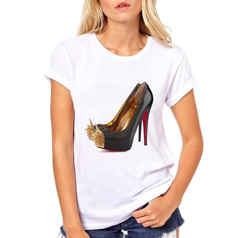 WVIOCE Harajuku Classic Graphic Print T Shirt Women Summer Vogue Princess Short Sleeve T-Shirt Tops Tee Shirt Femme Clothing