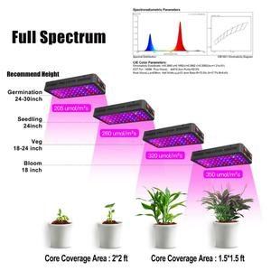 Image 5 - Phlizon 600w led grow light Full Spectrum Red Blue UV indoor flower Led Growing Lamps For grow tent box Hydroponics system