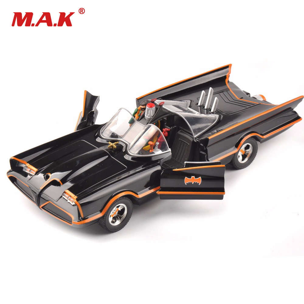 kids toys 1/24 scale diecast car model Batman Batmobile classics TV Lincoln Futura for children gifts collection 1 18 scale 1995 batman forever batmobile by hot wheels page 5