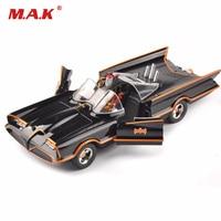kids toys 1/24 scale diecast car model Batman Batmobile classics TV Lincoln Futura for children gifts collection