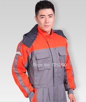 2016 Chinese Factory Latest Style Thicken Warm Work Uniform Suit Sets Coveralls Safety Work Uniform M