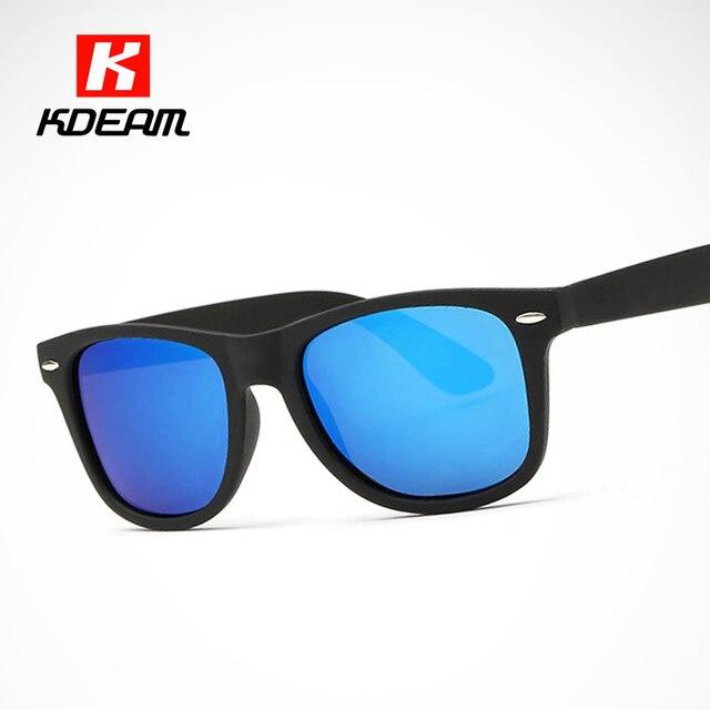 8a68005885 KDEAM famoso gafas de sol polarizadas para hombres senderismo Polaroid gafas  mujer espejo azul gafas polarizadas