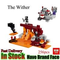 LEPIN Minecraft 256 pcs de La Dessécher sorcière enfer Imaginer Mon monde Modèle Blocs de Construction Briques Jouets Pour Enfants Cadeau