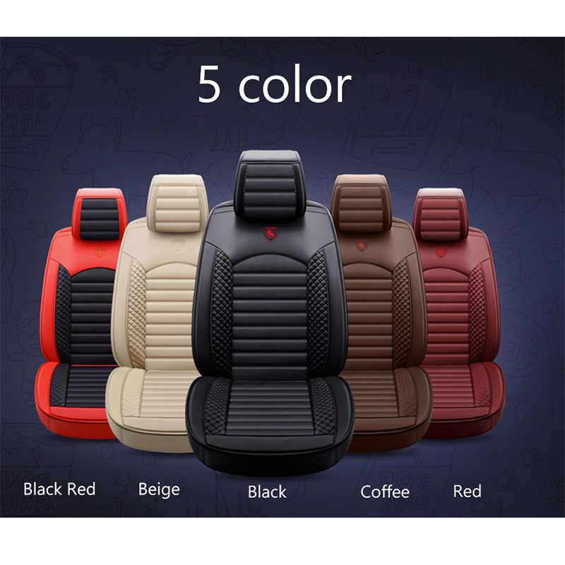 Kulit Kartun Universal Penutup Kursi Mobil untuk Lexus RX 200 300 350 460 470 570 480 580 2010 2009 2008 2007