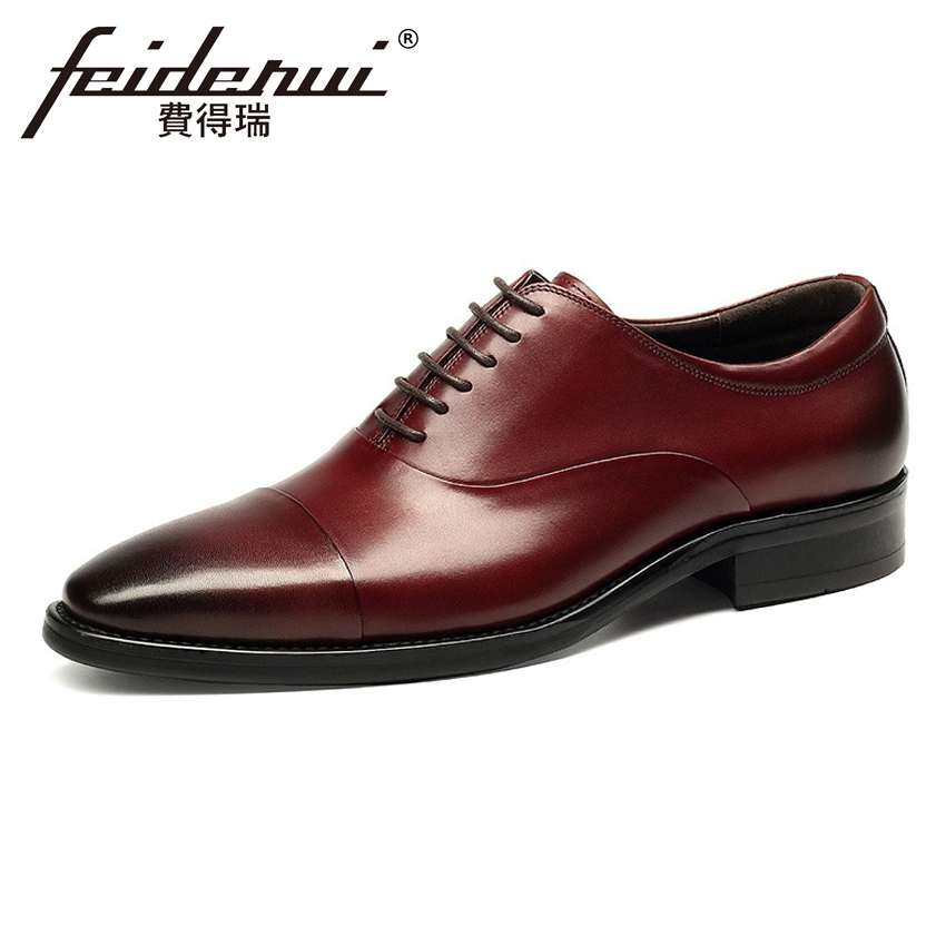 New Basic Formal Dress Genuine Leather Mens Oxfords Round Toe Handmade Male Party Flats British Brogue Shoes For Man HMS90New Basic Formal Dress Genuine Leather Mens Oxfords Round Toe Handmade Male Party Flats British Brogue Shoes For Man HMS90