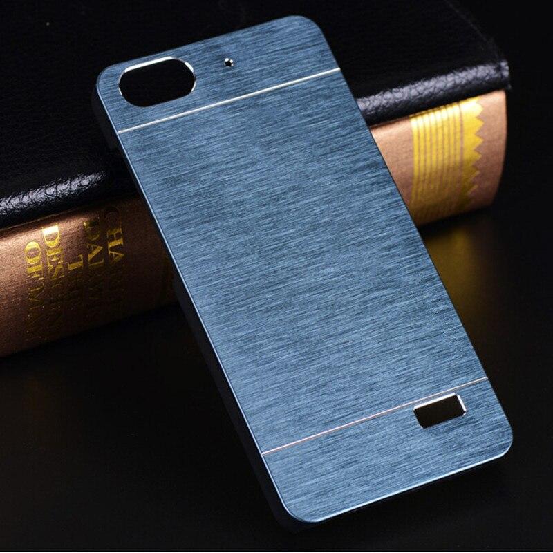 Case motomo lujo metal de aluminio case para huawei honor 4c cepillo accesorios