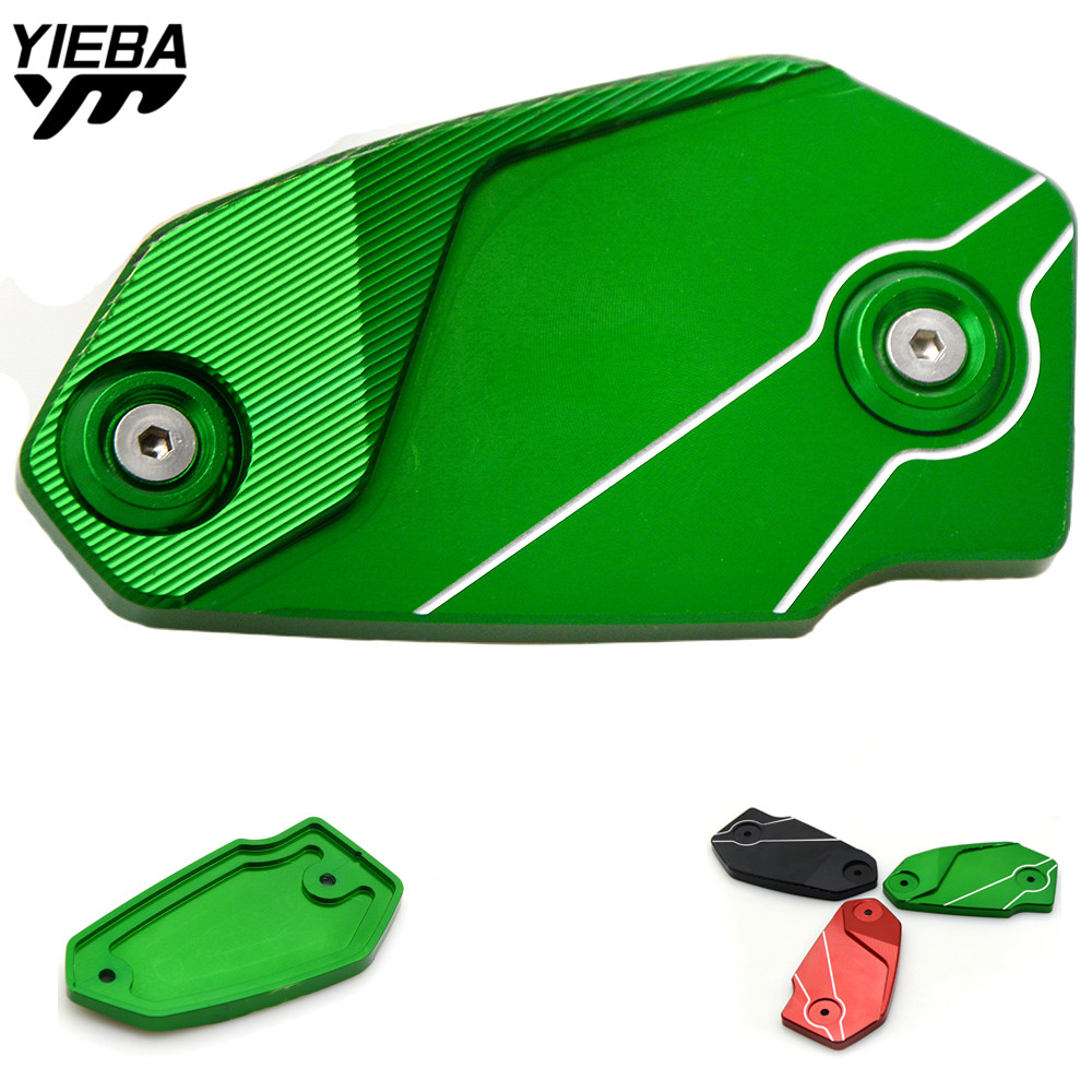 Motorcycle Front brake Fluid Reservoir Cover Cap For Kawasaki VERSYS 650 VERSYS650 ninja650 NINJA 650 ER6N ER6F Z800 2013-2016