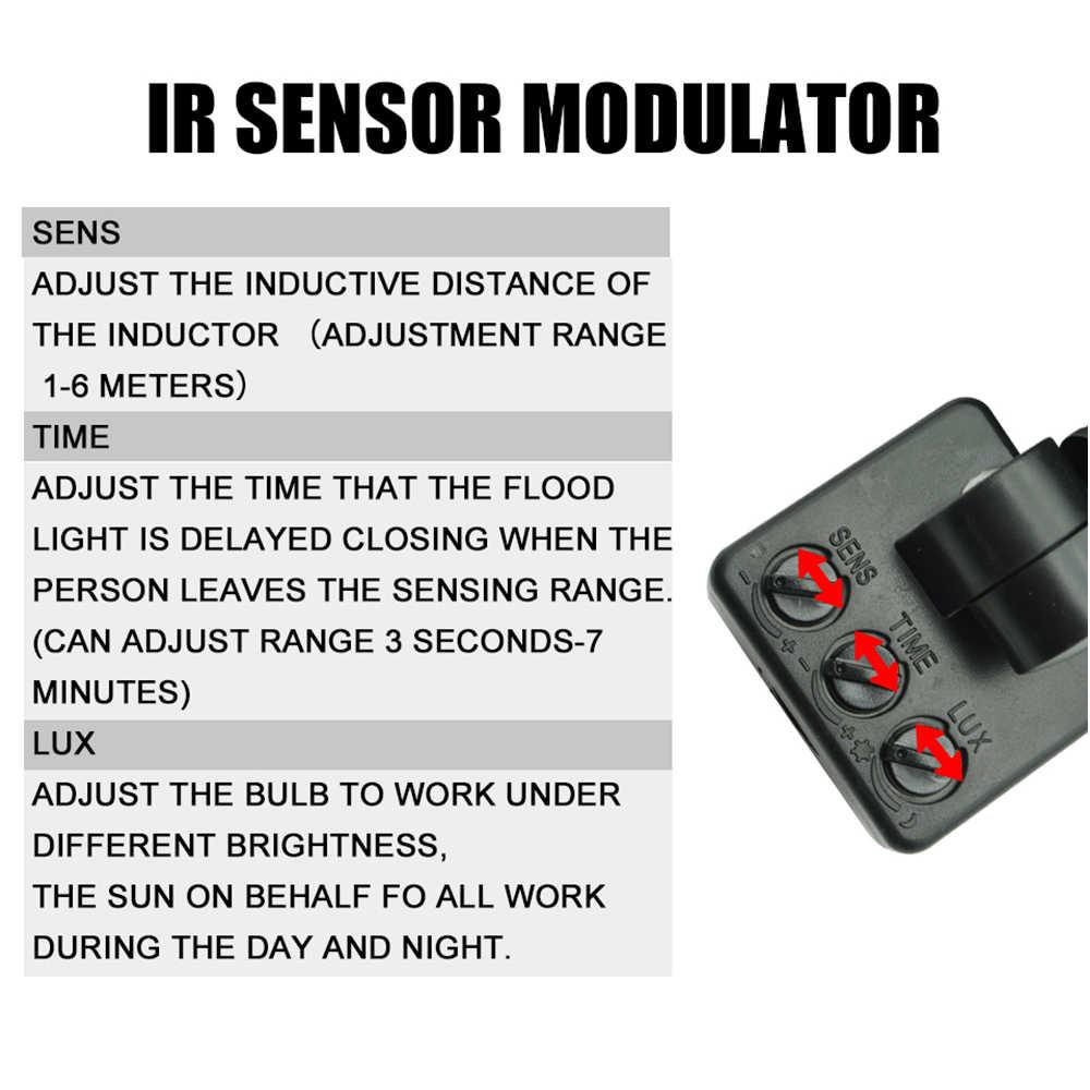 Движения Сенсор Светодиодный прожектор 10 Вт 30 Вт 50 Вт AC 220 V Светодиодный прожектор Водонепроницаемый IP65 поиска светодиодные прожекторы лампы светодиодное освещение стены