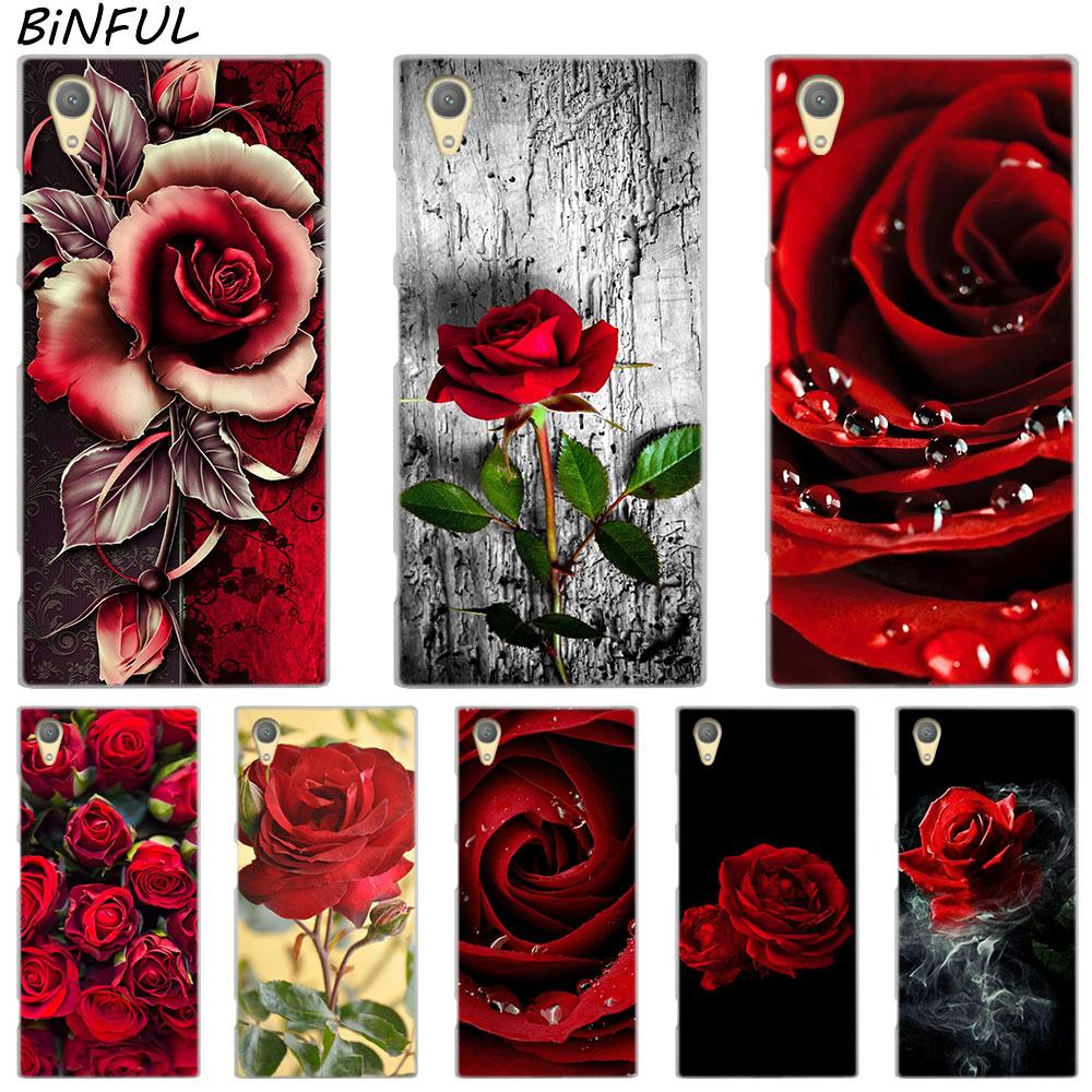 Us 181 27 Offred Rose Flowers Hd Wallpaper Clear Cover Case For Sony Xperia Z3 Z5 Premium M4 Aqua M5 X Xa Xa1 C4 C5 E4 E5 Xz Xz2 Compact Plus In