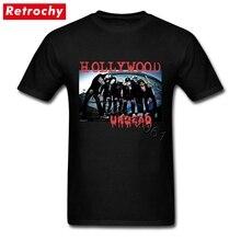 fd0bb8e7f Retro Style Hollywood Undead T Shirt Homme Famous Brand Gorgeous Concert  Tee Shirt Short Sleeve Boy