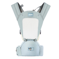 Disney Infant Baby Hipseat Baby Carrier Ergonomic Carrier Front Facing Kangaroo Baby Wrap Sling for Baby Travel Backpacks