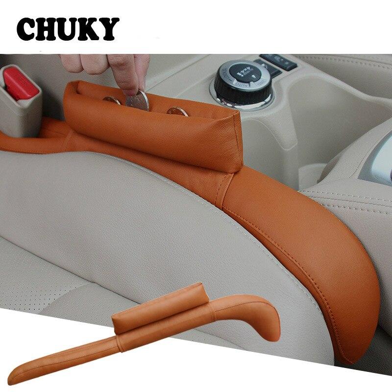 1Pcs car upgrade seat clearance leakproof for Audi A4 B6 B8 VW Passat B5 B7 Skoda Octavia A7 A5 Renault Megane 2 3 Ford Focus