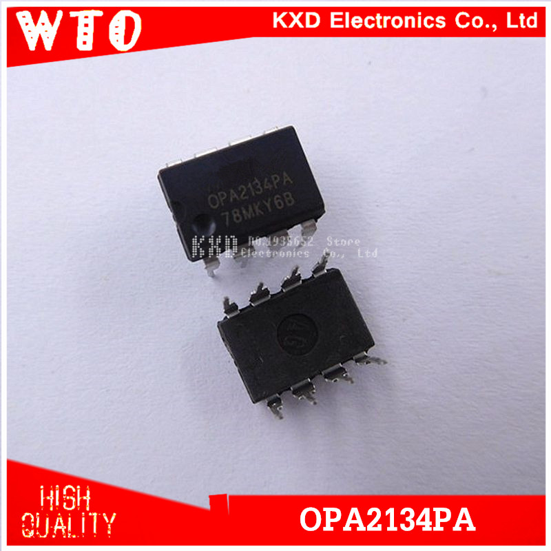 Video Games Back To Search Resultsconsumer Electronics Amiable 10pcs/lot Opa2134pa Opa2134p Opa2134 2134 Dip-8