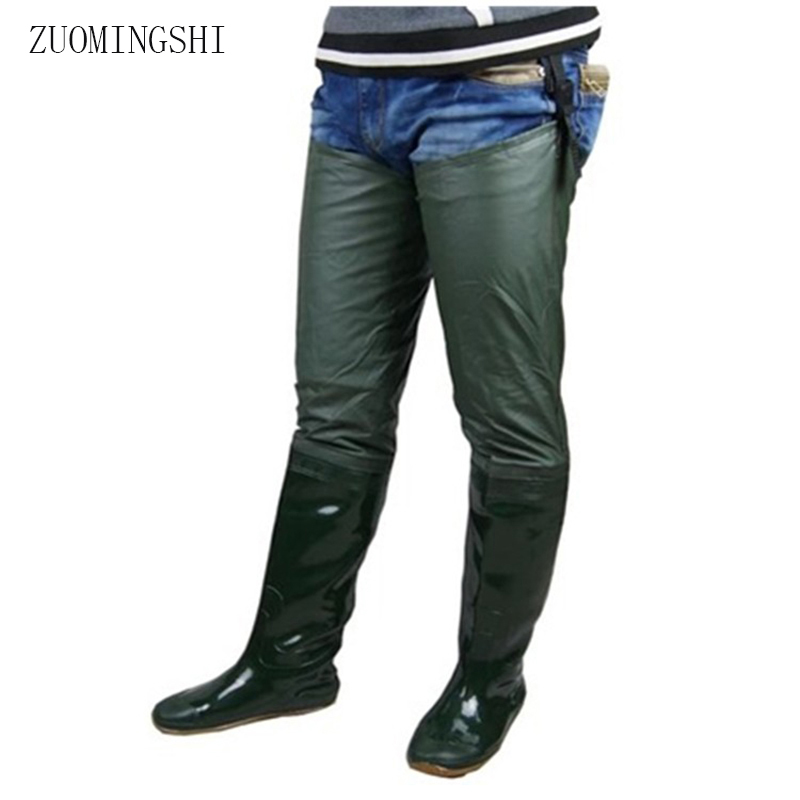 2018 verkoop mannen rubber regenlaarzen winter zachte zool vissende laarzen voor mannen lichtgewicht antislip rubber laarzen overschoenen regenlaarzen