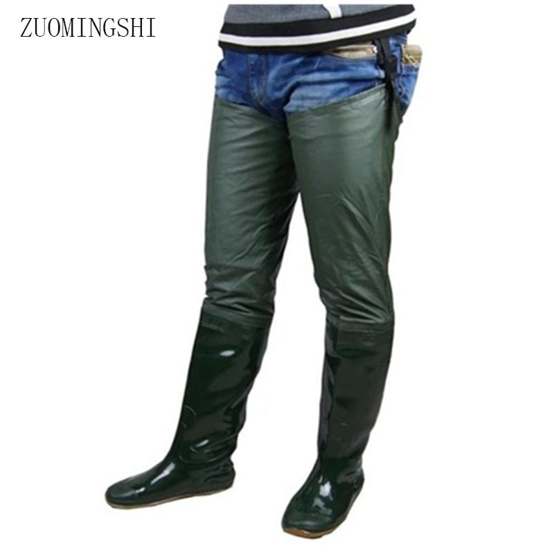 2018 venda homens botas de chuva de borracha inverno sola macia botas de pesca para homens botas de borracha antiderrapante de pouco peso galochas rainboots