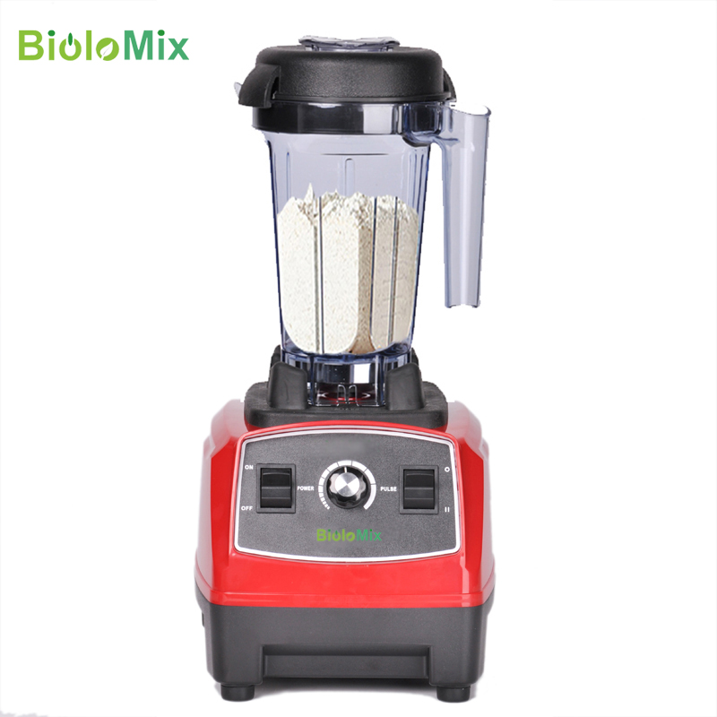 3HP 2200W 2L BPA FREE professional high power blender food mixer juicer stand fruit processor green smoothies máy xay sinh tố của đức