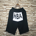 Men's Hiphop Shorts Male Streetwear HBA Shorts Bermuda homme 2016 New Arrival Casual Men Summer Mens Short Pants Trouser