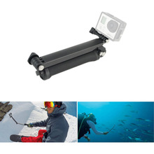 Gopro Accessories 3-way Grip Arm Tripod Monopod 3way Mount For Go pro Hero 4 3 3+ xiaoyi sj4000 eken sports camera