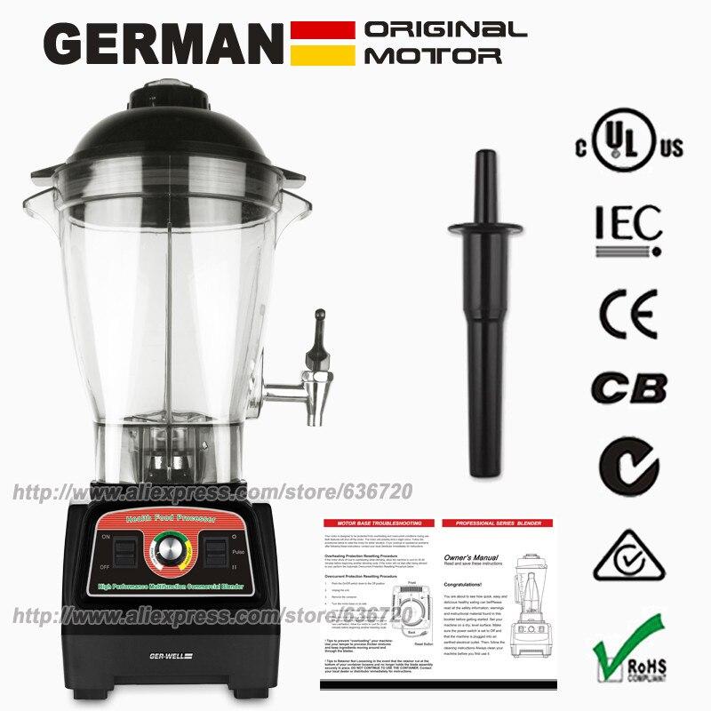 все цены на  GERMAN Original Motor GERWELL commercial food mixer machine 6L 3.3HP 2800W Black  онлайн