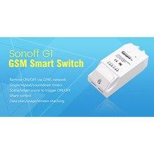 2017 Sonoff G1 GPRS/GSM À Distance Puissance Smart Switch Télécommande Toute Maison Connectée Appareils Via Android iOS eWeLink