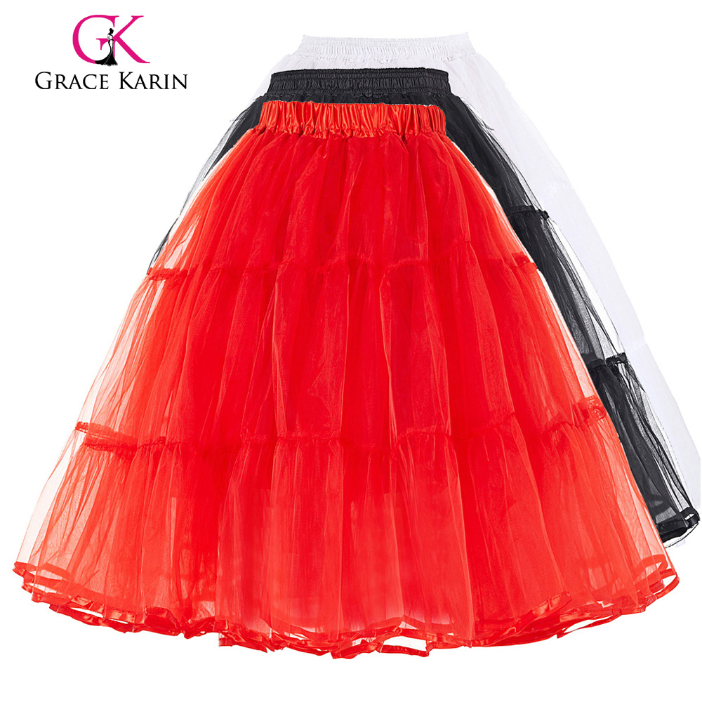 New fashion tulle crinoline vintage petticoat wedding for Tulle petticoat for wedding dress