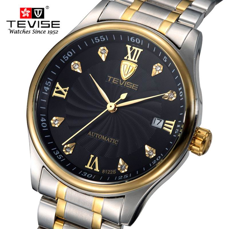 Fashion Men Watch TEVISE Casual Watches Men Top Brand Luxury Waterproof clock Men Wristwatches Machinery Watch reloj hombre fashion men watch wwoor brand casual watches men top brand waterproof luxury steel men wristwatches quartz watch reloj hombre