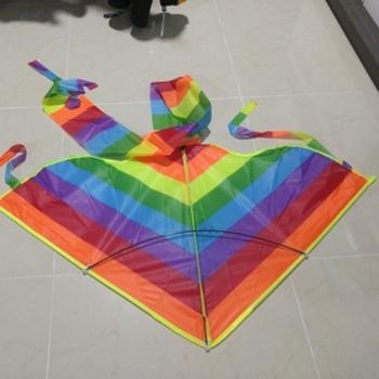 Nowy długi tren Rainbow latawiec latawce latające zabawki latawiec dla dzieci dzieci 95AE tanie i dobre opinie NYLON 3 lat 95AE7HH900688 Unisex Pojedyncze