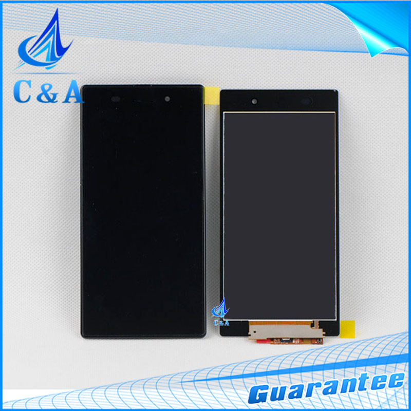 1 piece free shipping tested replacement part 5 inch screen for Sony Xperia Z1 L39h C6902 C6903 lcd display with touch digitizer