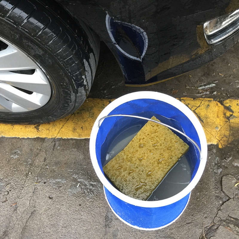 Automobiles Outdoor Fishing essential portable folding bucket car wash bucket 9L Collapsible Car Wash & Maintenance bucket
