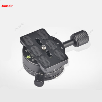 360-degree panoramic platform rotating base fast mounting plate chuck tripod panoramic table CD50 T07