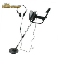 Hot Selling 5 0KHz Black Industrial Underground Metal Detector With Headphone Outdoor Treasure Hunter Detector De