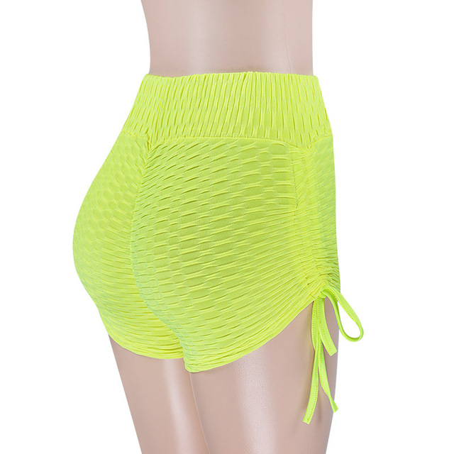 Women High Waist Solid Slim Fold 2