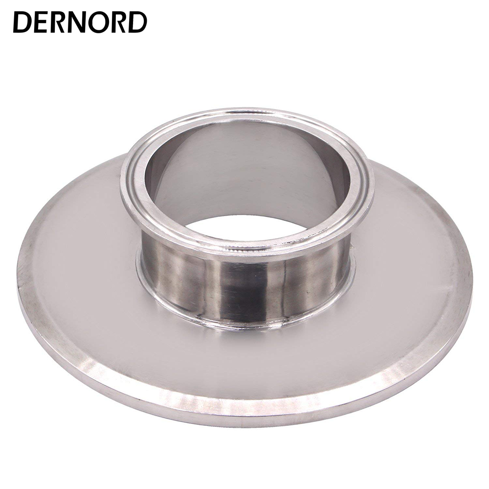 DERNORD 6 3 End Cap Short Reducer Tri Clamp Clover stainless Steel 304 Sanitary Pipe