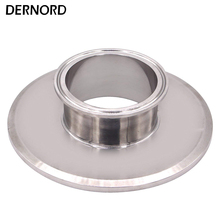 DERNORD 6'' * 3'' End Cap Short Reducer Tri Clamp Clover stainless Steel 304 Sanitary Pipe Fitting цена