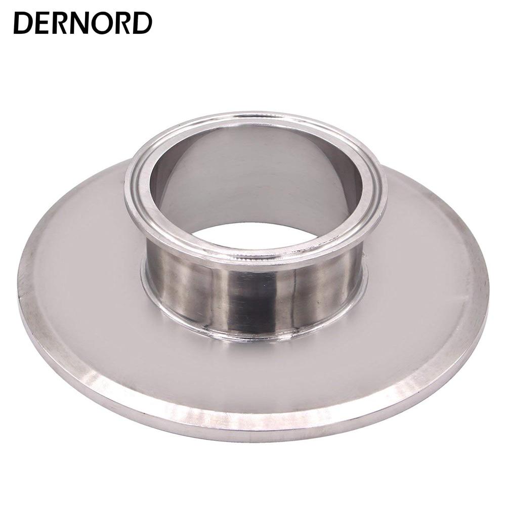 DERNORD 6 ''* 3'' embout court réducteur Tri pince trèfle acier inoxydable 304 raccord de tuyau sanitaire
