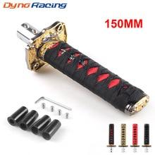 Universal JDM Samurai Sword Shift Knob Shifter Katana Metal Weighted Sport BX101580